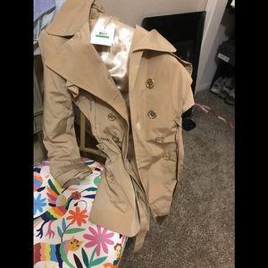 Brand. New Calvin Klein water repellant coat